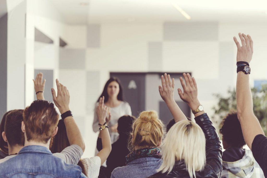 Come possiamo catturare l'attenzione di chi ci ascolta durante le nostre presentazioni?
