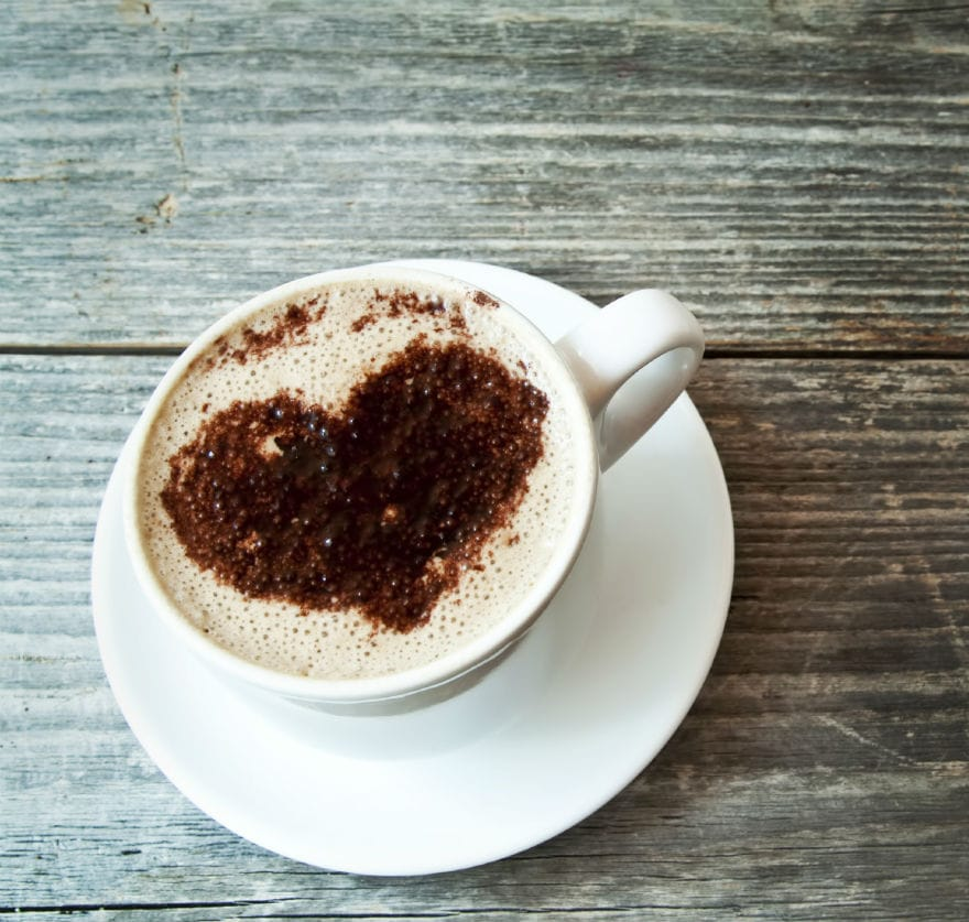 La felicità è capire che quello che ci piace davvero non è trasgredire ma bere un buon caffè