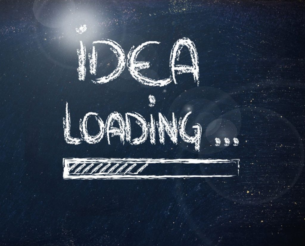 Le idee arrivano all'improvviso, e cambiano la nostra vita per sempre