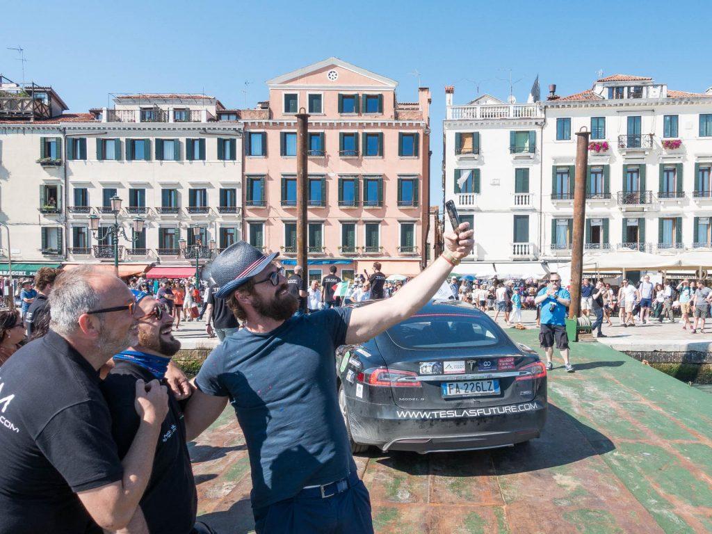 Tesla S Future, Day 8. Venezia! Il traguardo, l'impresa, il cambiamento che tutti dovremmo inseguire