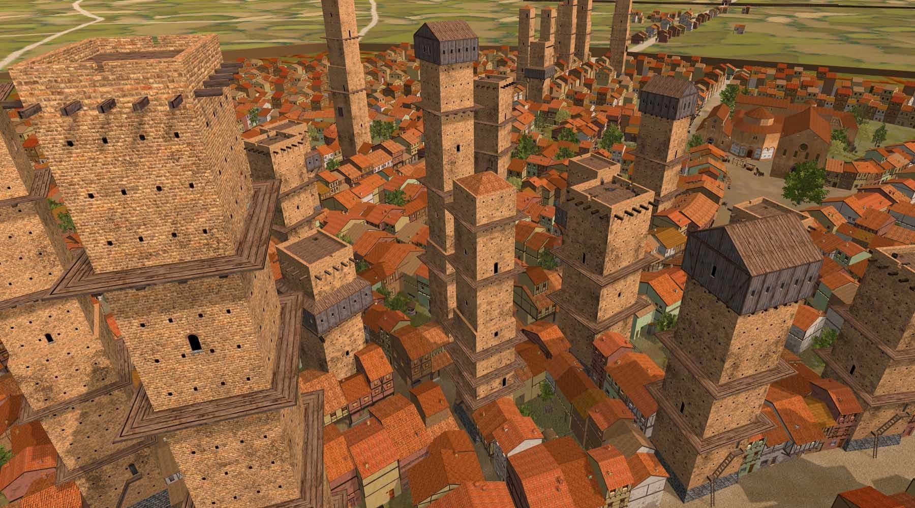 TOWERandPOWER: la realtà virtuale ci porta nel Medioevo