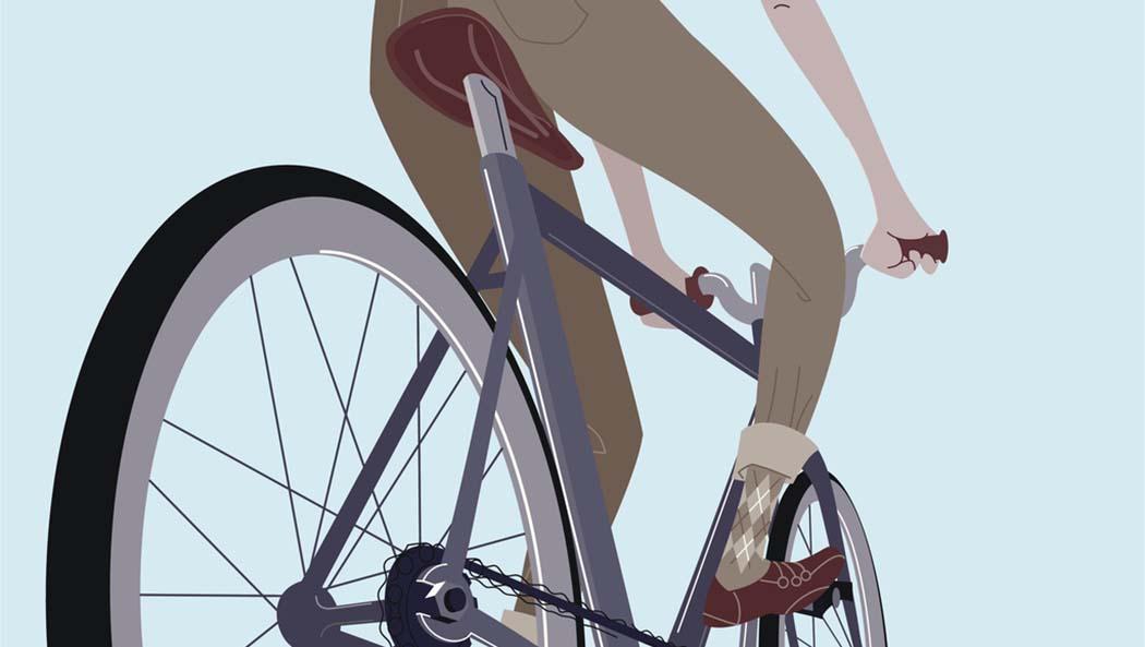 Nulla insegna direzione ed equilibrio quanto un giro in bicicletta