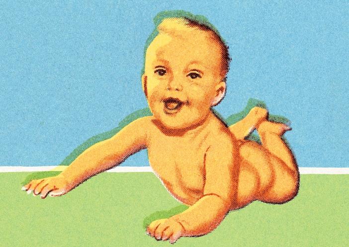 Il riso è sacro. Quando un bambino fa la prima risata è una festa