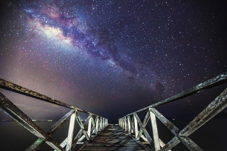Possa tu costruire la scala che porta alle stelle e percorrerne ogni gradino