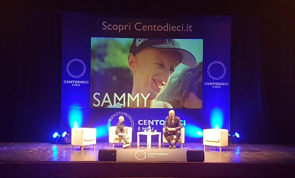 Centodieci è Ispirazione incontra Sammy Basso: 5 punti chiave per vivere meglio