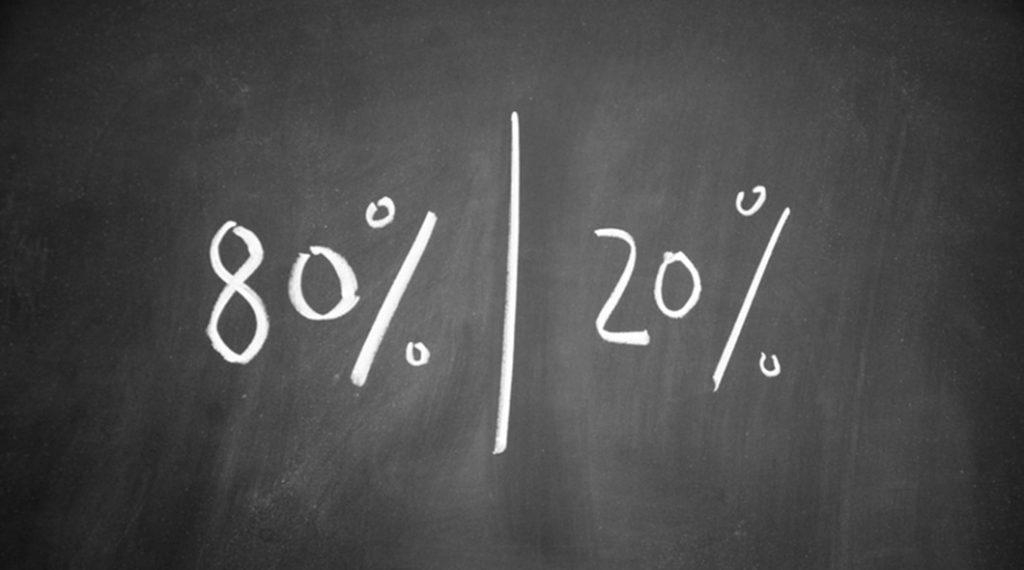 L'80% degli effetti dal 20% delle cause: ecco le lezioni che puoi trarre dal principio di Pareto