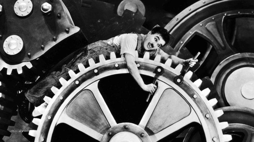 Se volete capire come sta cambiando il mondo, guardate Tempi Moderni di Charlie Chaplin