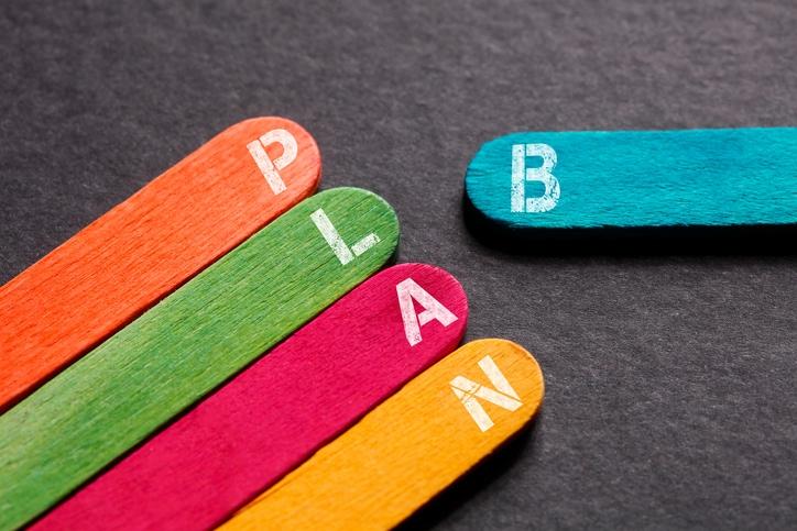 L'importanza vitale di avere un «piano B»