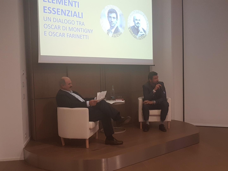 Elementi Essenziali: 11 spunti dal dialogo tra Oscar Di Montigny e Oscar Farinetti