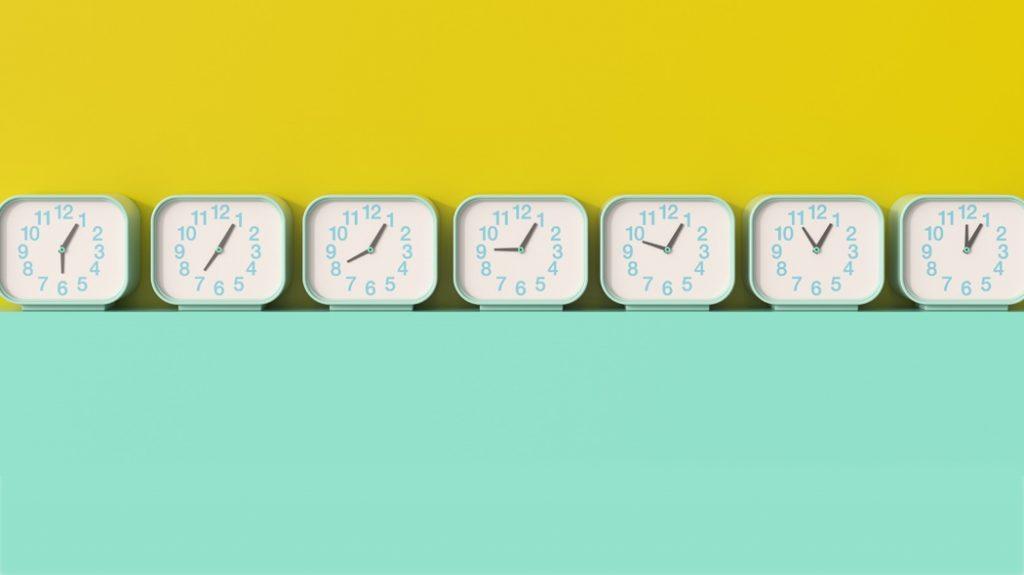 5 consigli per non perdere nemmeno un minuto di tempo