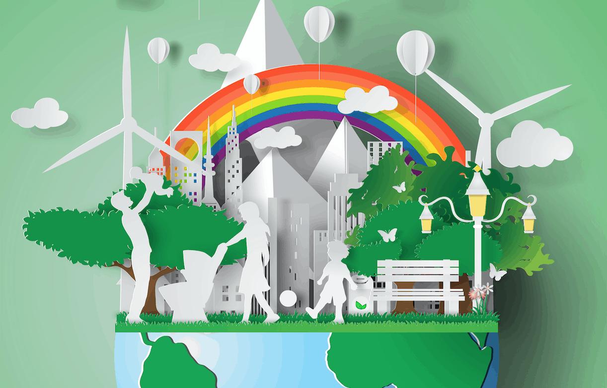 Tutti hanno la possibilità di trasformare il mondoe renderlo un luogo felice