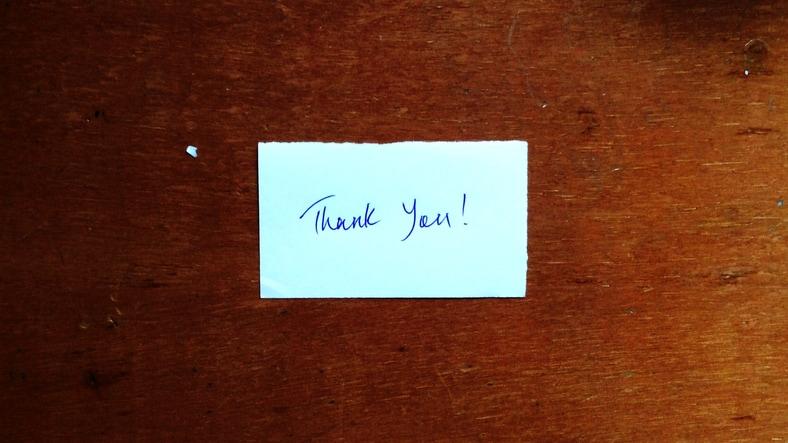 Ringrazia, e non dare nulla per scontato: 3 consigli da seguire subito