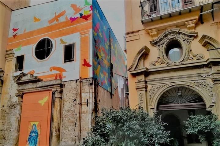 Santa Sofia dei Tavernieri a Palermo: la storia incontra la street art grazie a Centodieci