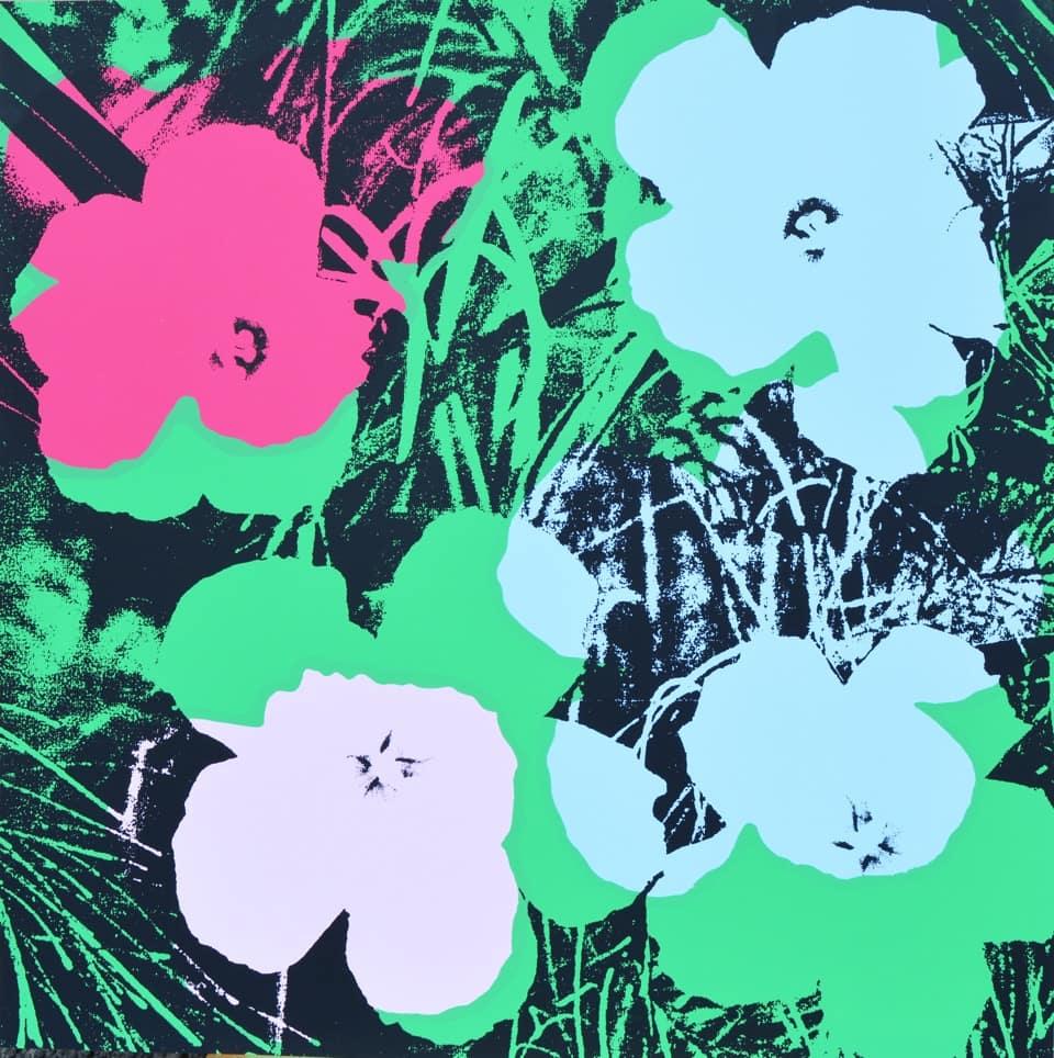Fiori Warhol.Centodieci E Arte Andy Warhol Flowers Centodieci