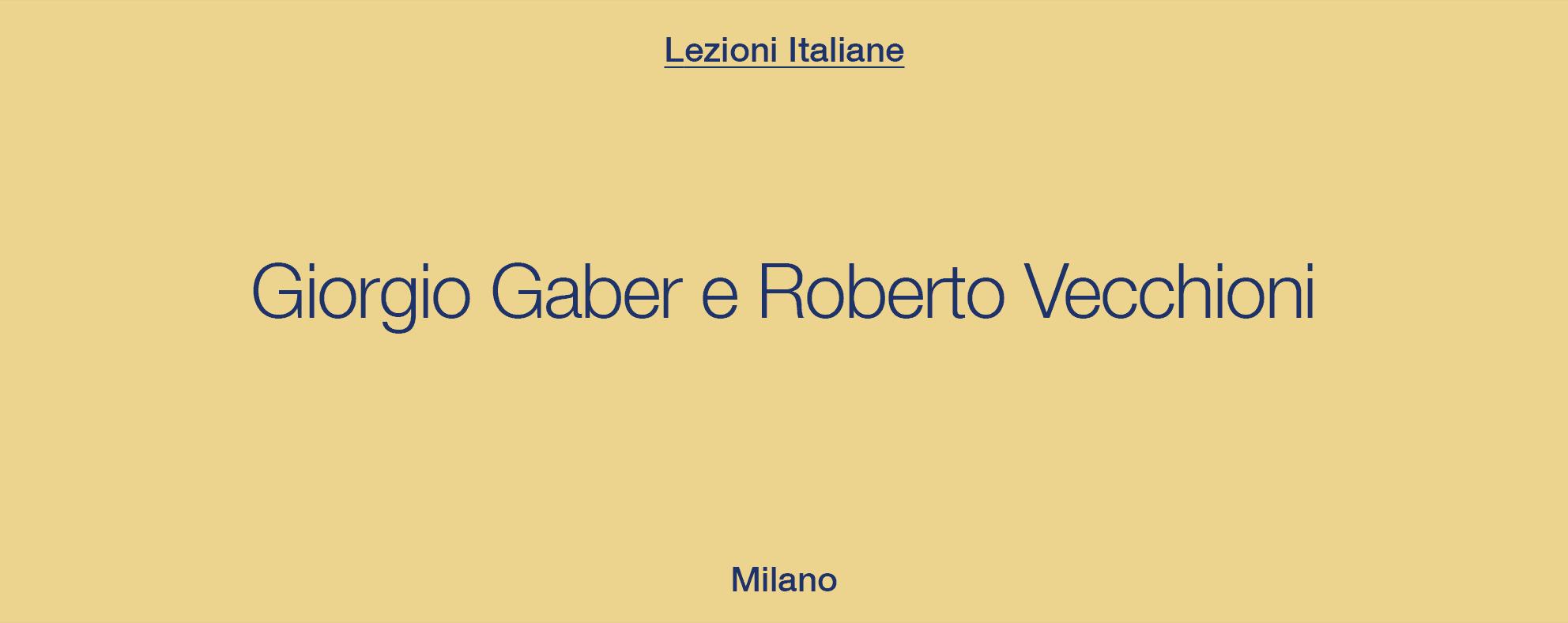 Note d'Italia – Milano, Daniele Stefani canta Gaber e Vecchioni