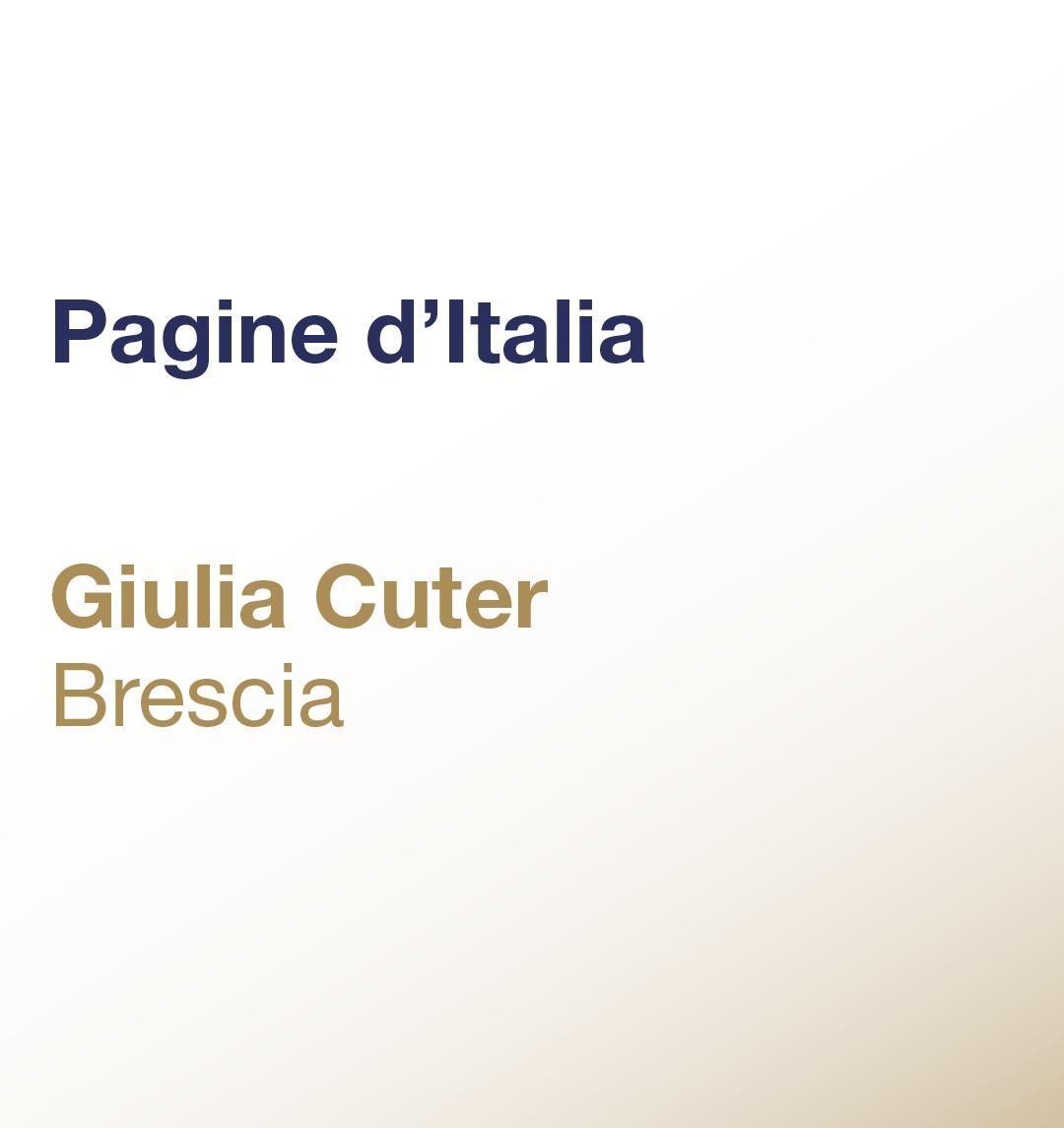 Pagine d'Italia – Giulia Cuter – Brescia