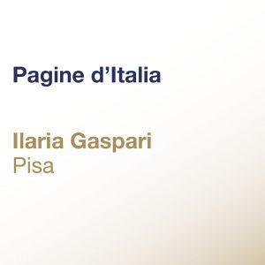 Pagine d'Italia – Ilaria Gaspari – Pisa