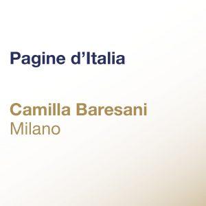 Pagine d'Italia – Camilla Baresani – Milano