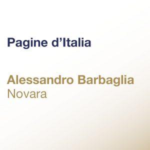 Pagine d'Italia – Alessandro Barbaglia – Novara