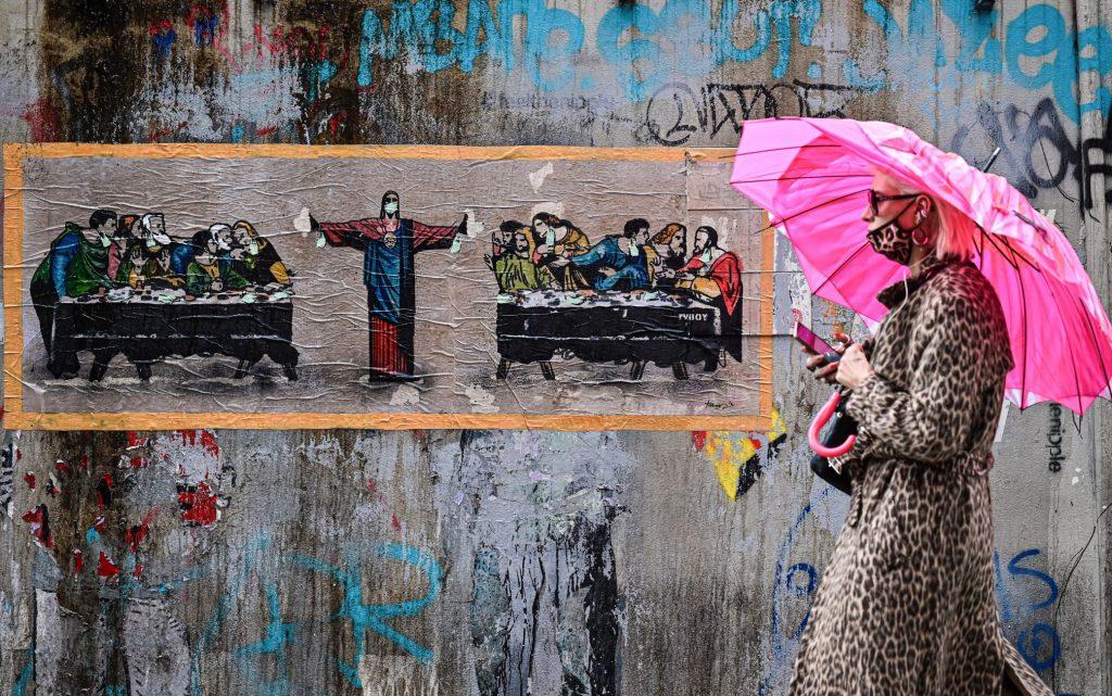 StreetArt: TVBOY e il racconto dell'attualità sui muri delle città