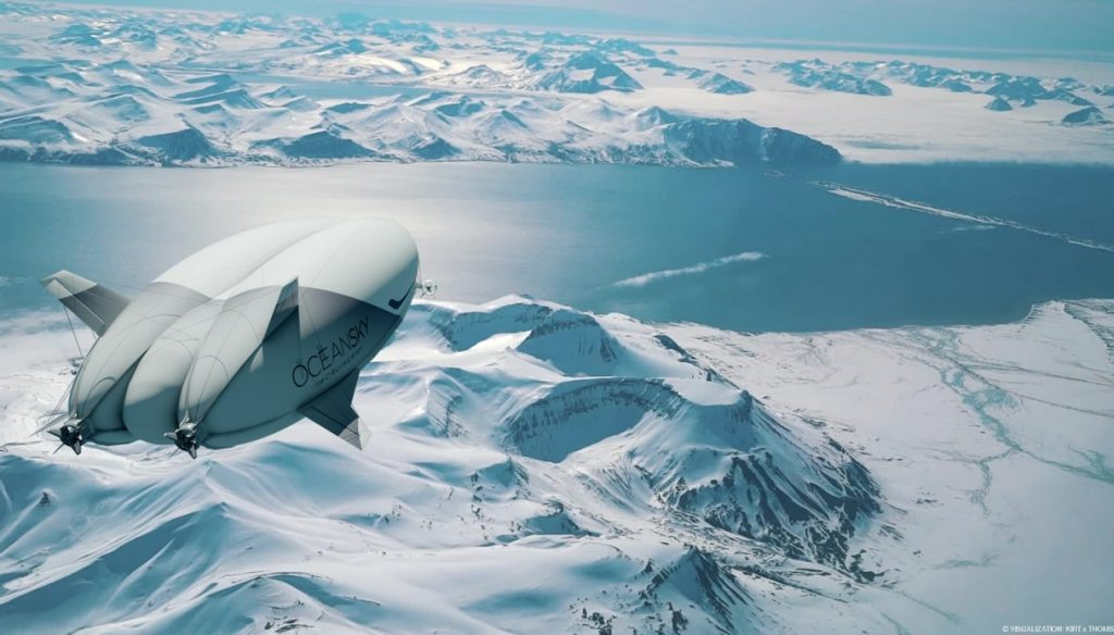 Airlander 10, il dirigibile ibrido che ci farà volare a emissioni zero