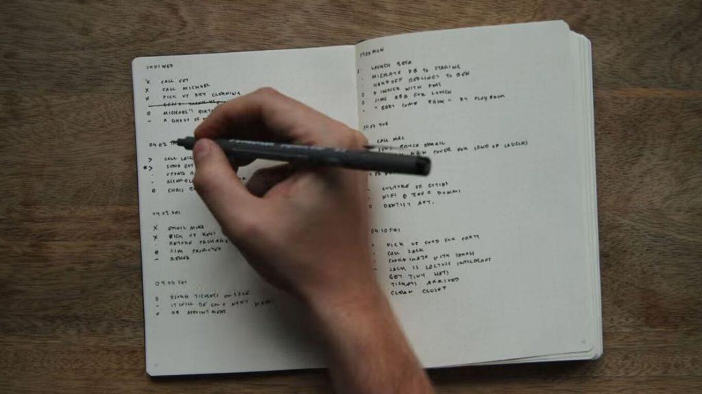 Sviluppo personale: come organizzare la giornata con Bullet Journal e MIT